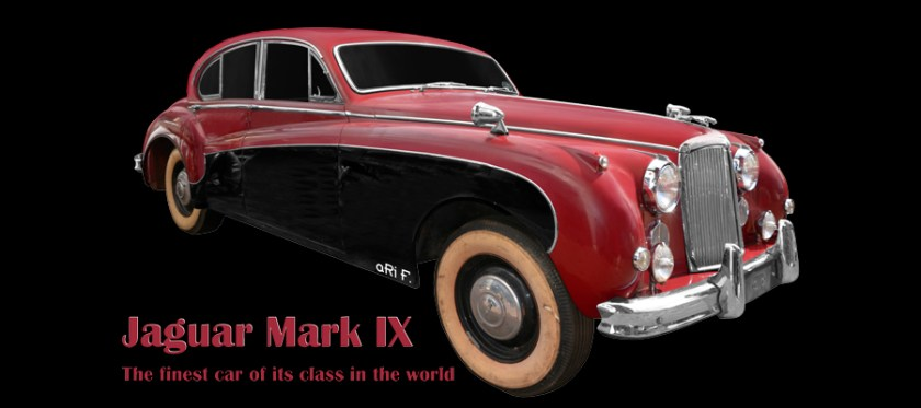 Jaguar Mark IX (1958-1961) Poster by aRi F.