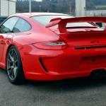 Porsche 911 GT3 3.8 Typ 997 rear view