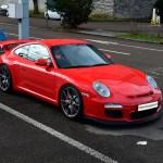 Porsche 911 GT3 3.8 Typ 997 side view