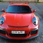 Porsche 911 Typ 991.1 GT3 RS front view