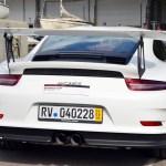 Porsche 911 Typ 991.2 GT3 RS Heckansicht / rear view