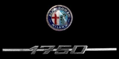 Logo Alfa Romeo 1750 GT Veloce