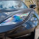 Lotus Evora 400 Scheinwerfer mit LED-Tagfahrlicht und Scheinerferreinigung