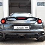 Lotus Evora 400 rear view