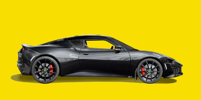Lotus Evora 400 in original black