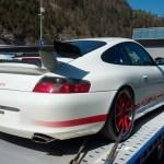 Porsche 911 GT3 RS Typ 996 Heckansicht