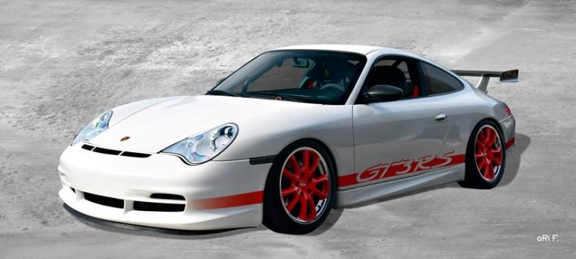 Porsche 996 GT3 RS Poster by aRi F.