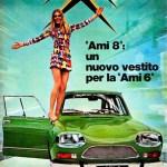 1969, Ami 8 un nuovo vestito per la Ami 6