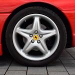 Ferrari F355 GTS F1 Original Ferrari Magnesium-Felgen