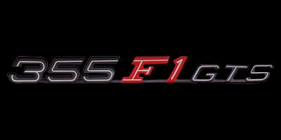 Logo Ferrari F355 GTS F1