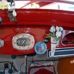 Adler Trumpf Junior 1E- Limousine Interieur Detailansicht