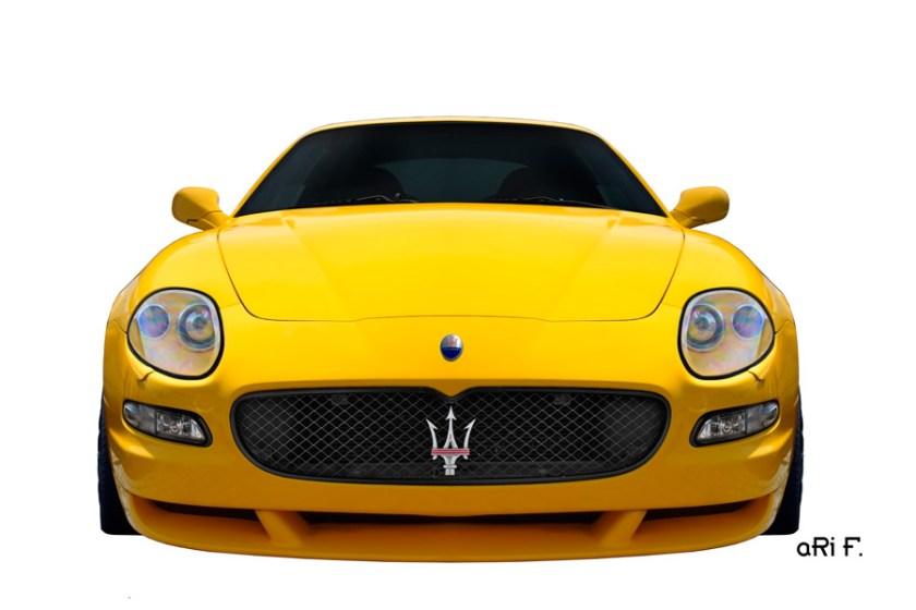 Maserati GranSport Coupé Poster in original color