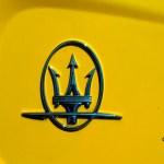 Maserati GranSport mit Logo Maserati auf C-Säule