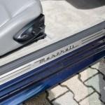 Maserati GranTurismo S Einstiegsblech aus Aluminium