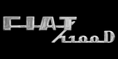 Logo Fiat 1100 D (1953-1970)