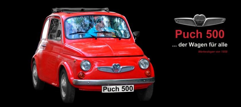 Steyr-Puch 500 Poster fotografiert von aRi F.