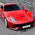 Ferrari F12 top view Automotive Photography by aRi F.