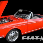 Fiat 1500 Spider Poster by aRi F.