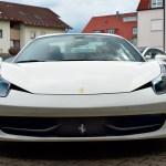 Ferrari 458 Spider Frontansicht / front view