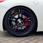 """Ferrari 458 Spider mit Brembo Carbon Ceramic-Scheiben und Continental 295/35 ZR 20 10,5"""" hinten"""