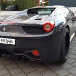 Ferrari 458 Spider schwarz