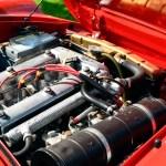 Alfa Romeo Spider mit Reihenvierzylindermotor