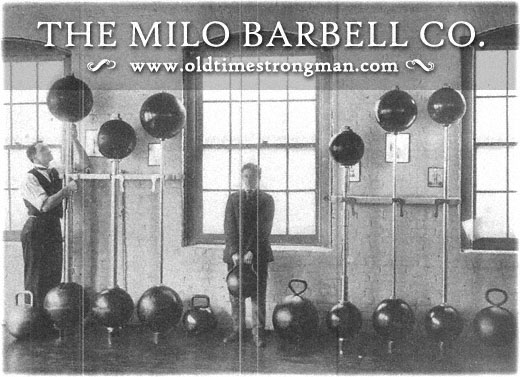 The Milo Barbell Company, circa 1915