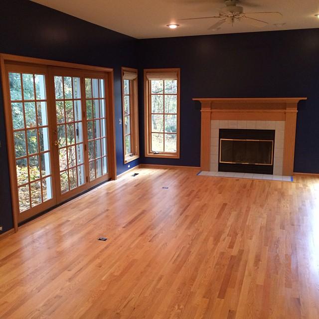 Buff And Coat Hardwood Floors