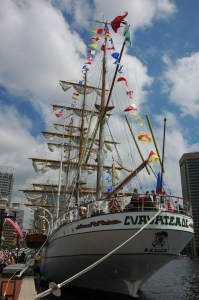 The tall ships are coming again! Photo by Mark Talbott