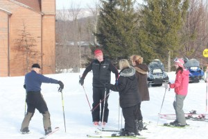 Ski Lesson at Timberline Ski Area.