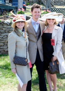 From the left - Anne Sittmann, Nick Greenwell and Brandy Greenwell.  Brandy is wearing the hat that won the 2014 competition.