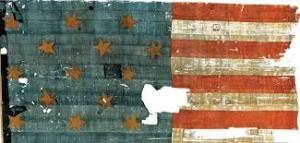 The Star Spangled Banner Flag, 1814