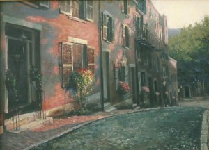 18. Old town1 Oil 32''x24''