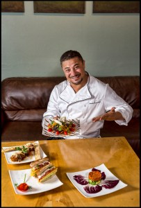 Chef Marco Tellaki at Bon Vivant