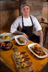 Chef James Duke at Copperwood Tavern