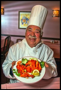 Chef / Owner Ramanand Bhatt of Dishes of India