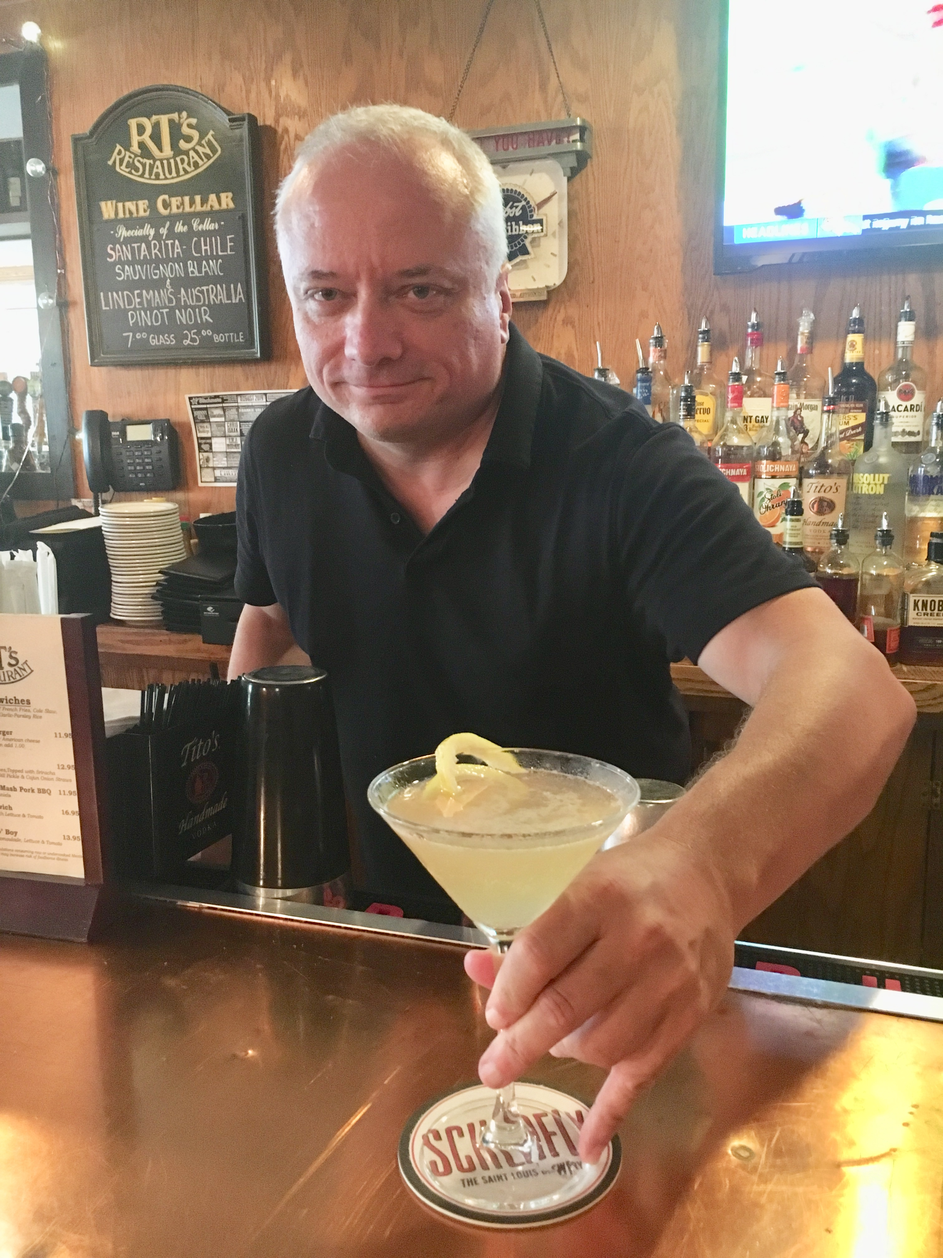 Behind the Bar: Steve Bork