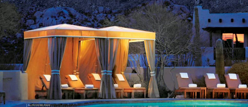 Our 2016 Pick For The 5 Best Resort Cabanas In Scottsdale
