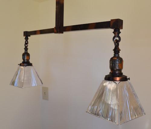 Craftsman chandelier profile