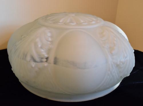 Victorian Bowl Shade, stripe