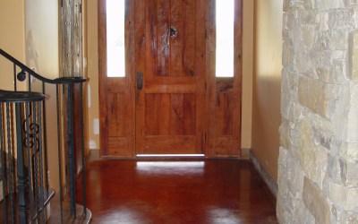 Italian Style Foyer