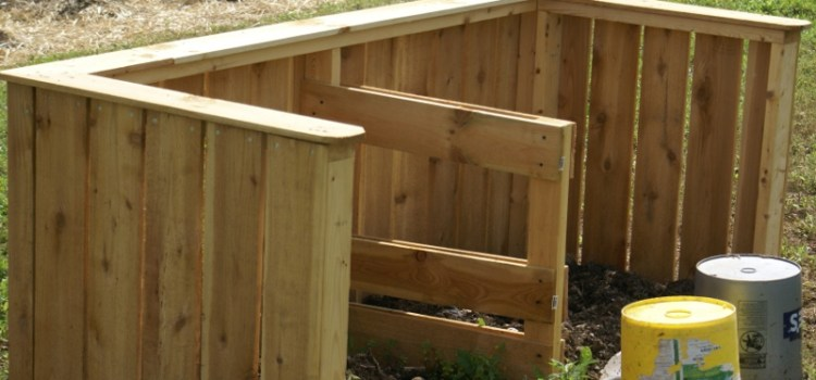 how to create a compost bin