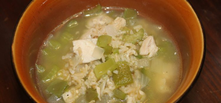 "Chicken-Jalapeno Soup ""The cold buster"""