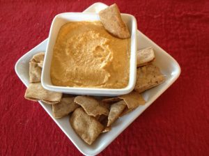 roasted red pepper hummus
