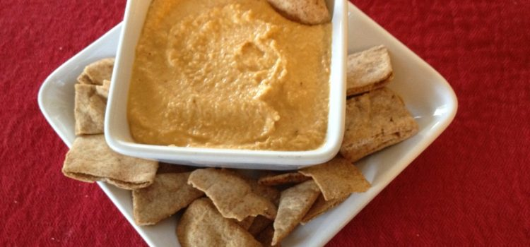 Unexpected Guest equals Unexpected Recipe – Roasted Red Pepper Hummus