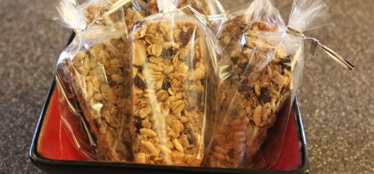 Homemade Granola Bar Recipe – Ohhhh So Good!