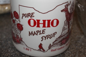 100 Grade A Natural Maple Syrup from The Butcher Family Maple Syrup Company
