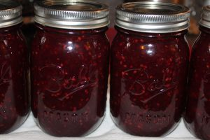 blackberry honey jam