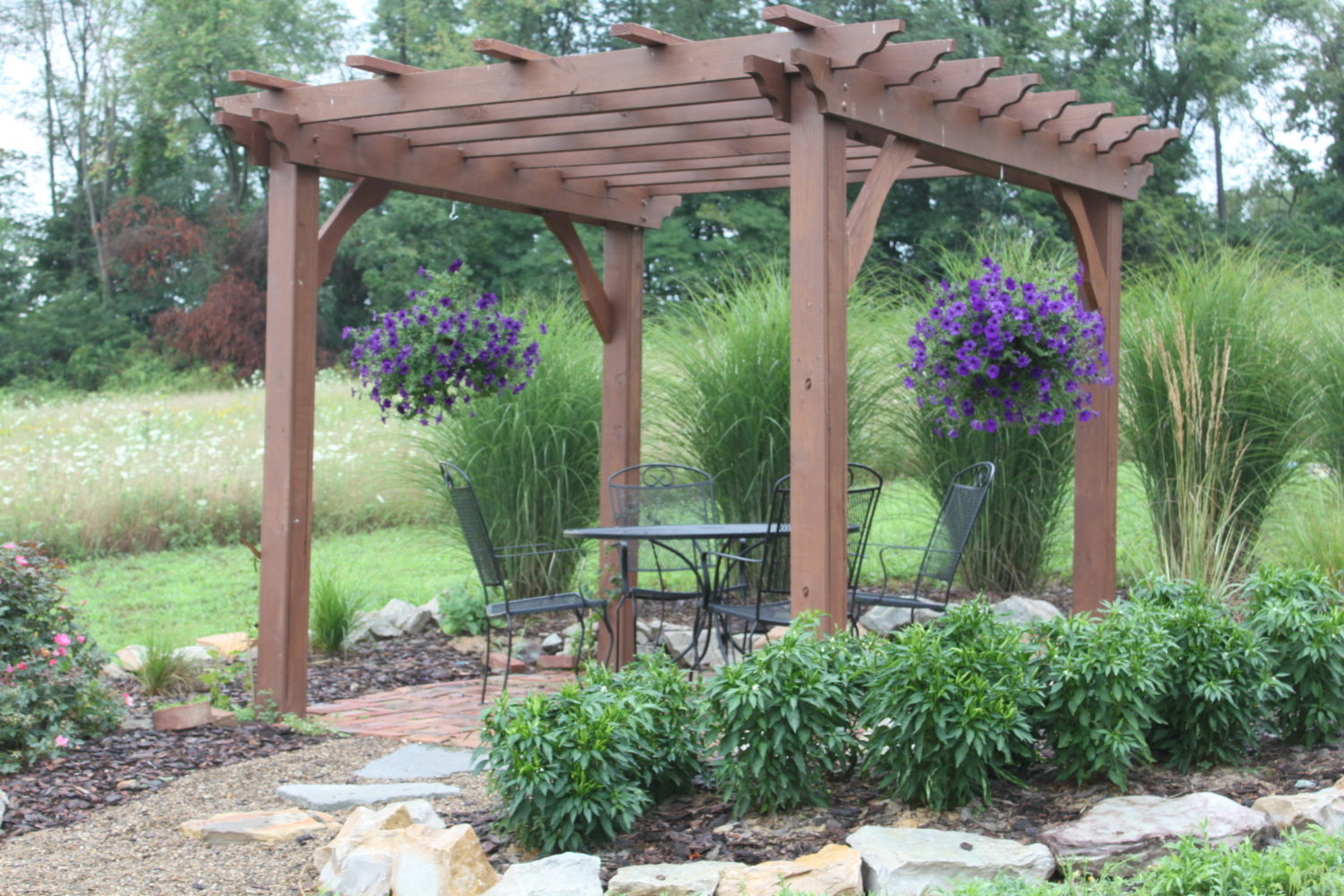 Cost to build pergola - You Can Stain Or Paint Treated Lumber To Match Any Wood Or Decor