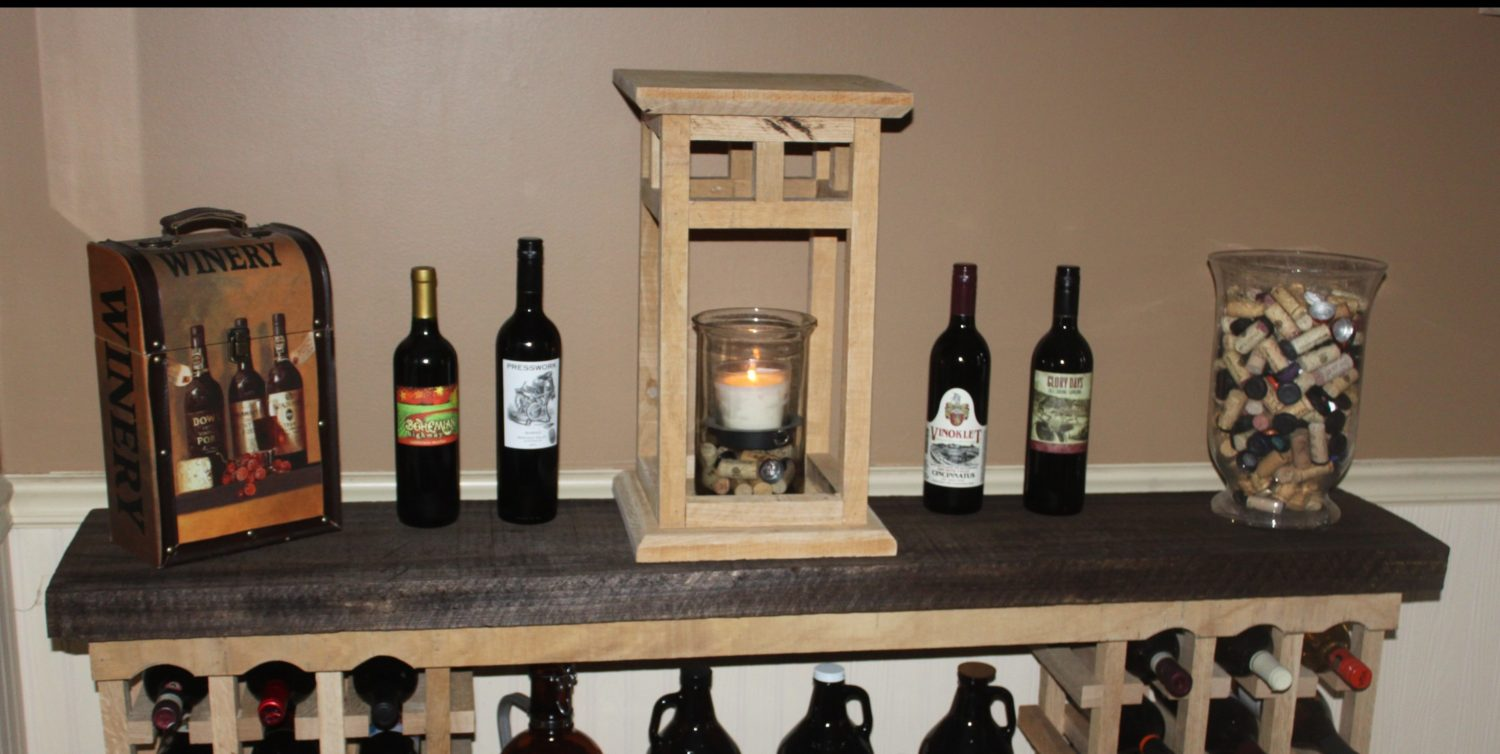 The Diy Rustic Wood Lantern Project Made From Pallets
